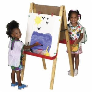 ECR4KIDS Adjustable 2 Sided Childrens Floor Easel