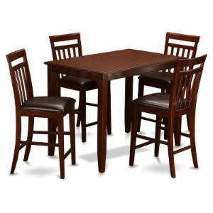 East West Furniture Buckland 5 Piece Sheraton Dining Table Set