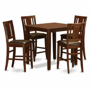 East West Furniture Vernon 5 Piece Scotch Art Dining Table Set