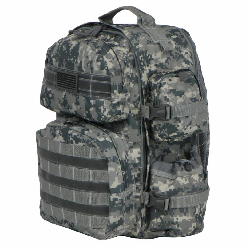 East West U.S.A. Tactical Molle Expandable Military ACU B...