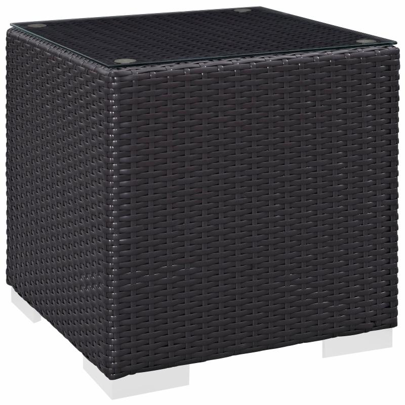 Modway Convene Wicker Outdoor Square Side Table - EEI-190...