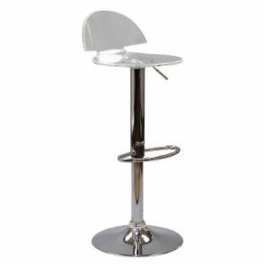 Modway Translucent Bar Stool - Clear