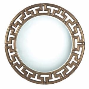 Sterling Industries Fairview Darthmouth Gold Mirror - 30 diam. in.