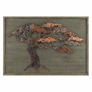 Sterling Wood and Metal Tree Wall Art
