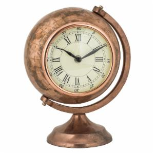Sterling Globe Table Top Clock