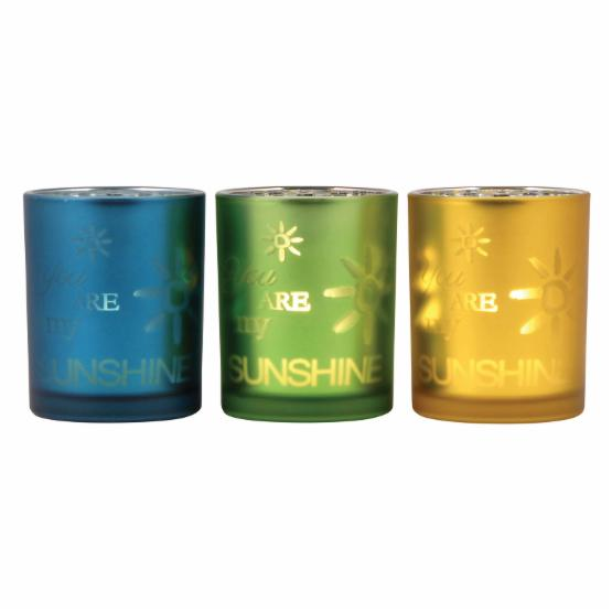 Pomeroy Sunshine Votive Candle Holder - Set of 3