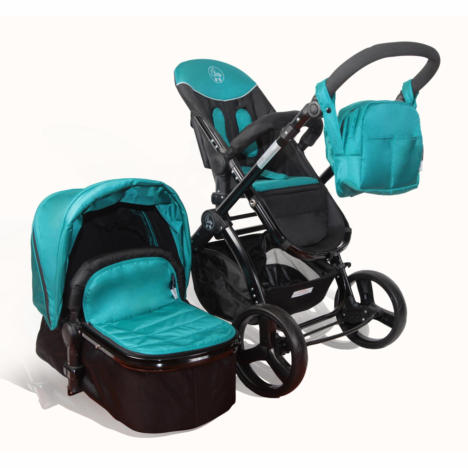 Elle Baby Strollers Deluxe Stroller System - Teal - DLX15TL