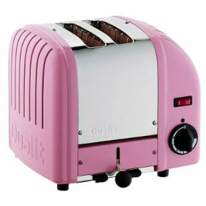 Dualit 20299 Vario 2 Slice Classic Toaster-Pink