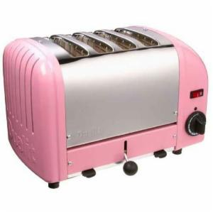Dualit 40420 Vario 4 Slice Classic Toaster-Pink
