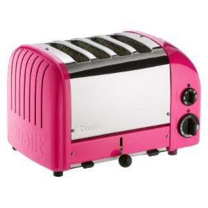 Dualit New Generation 47164 4 Slice Classic Toaster - Chilly Pink