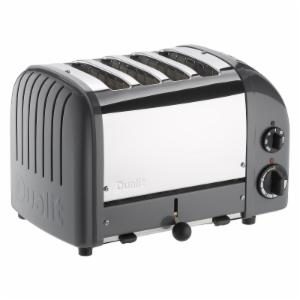 Dualit 47166 New Generation 4 Slice Classic Toaster - Cobble Gray