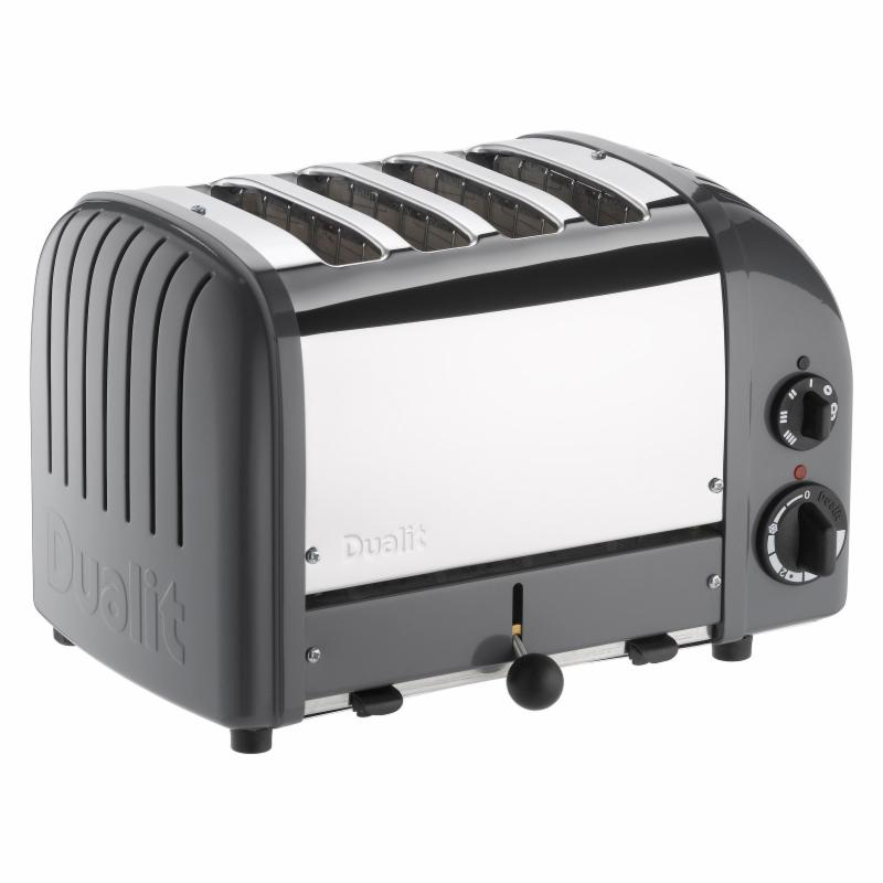 Dualit 47166 New Generation 4 Slice Classic Toaster - Cob...