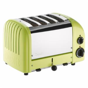 Dualit 47169 New Generation 4 Slice Classic Toaster - Lime Green