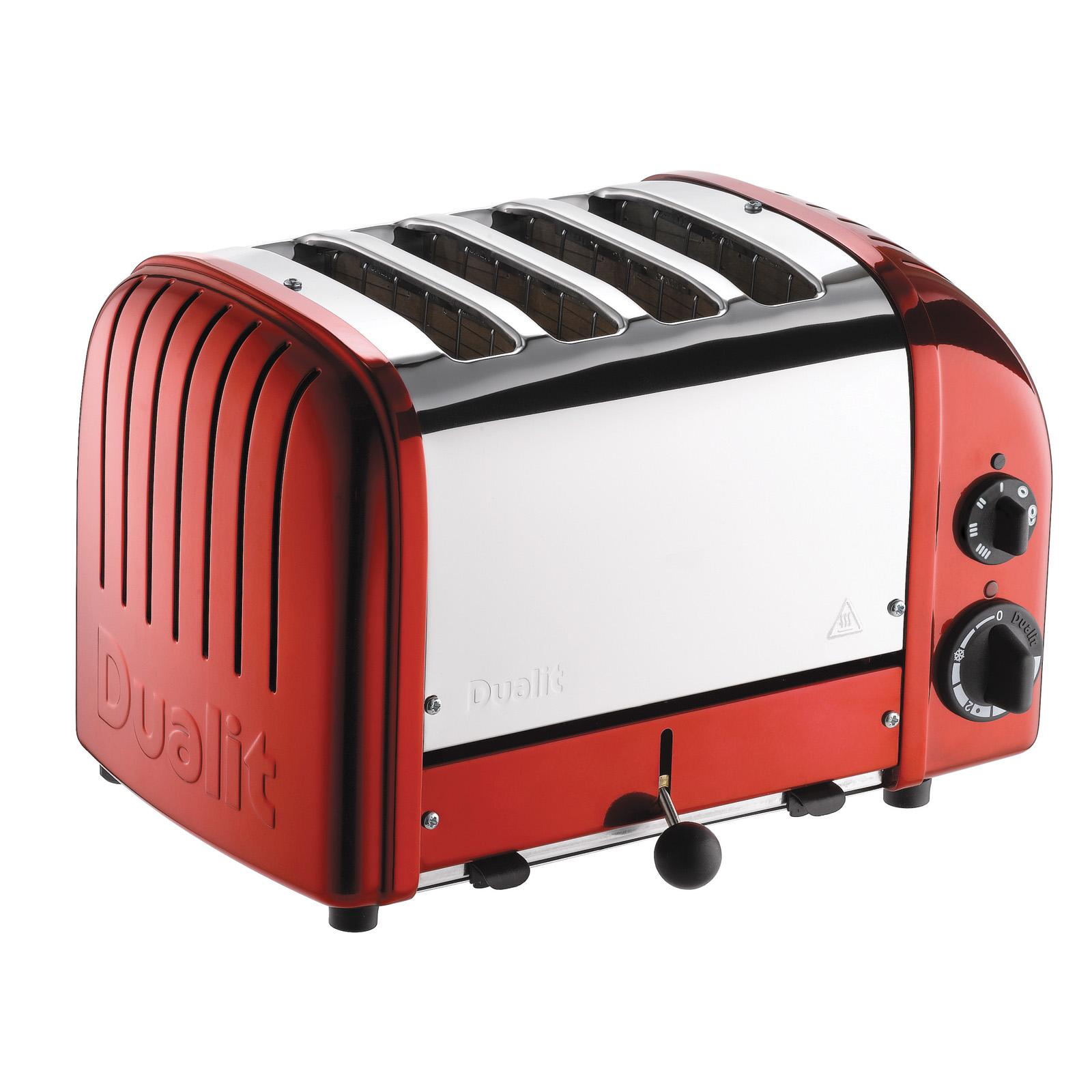 Dualit 47171 4 Slice Vario Classic Toaster-Red - 47171