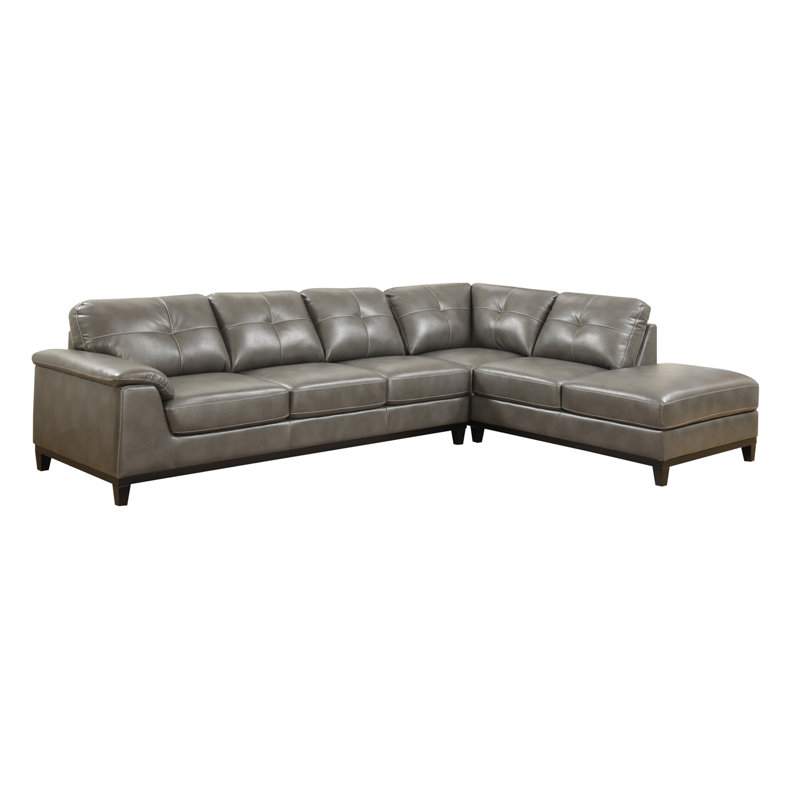 Emerald Home Marquis 2 Piece Sectional Sofa with Chaise