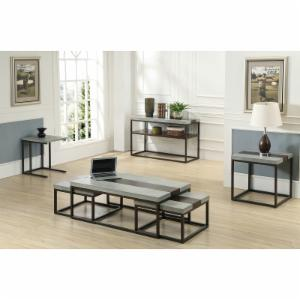 Emerald Home Stoneworks 3 Piece Cocktail Table Set