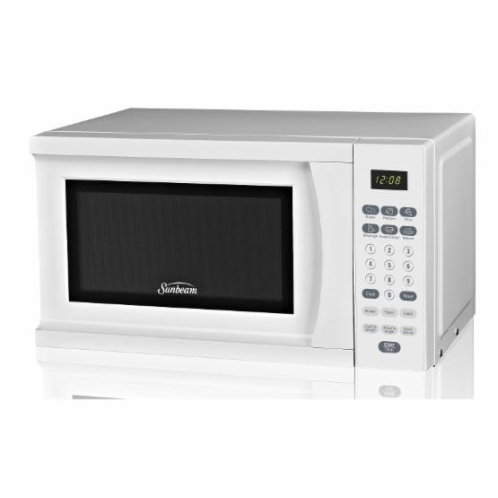 Sunbeam SGS90701W .7 cu. ft. Microwave Oven - White