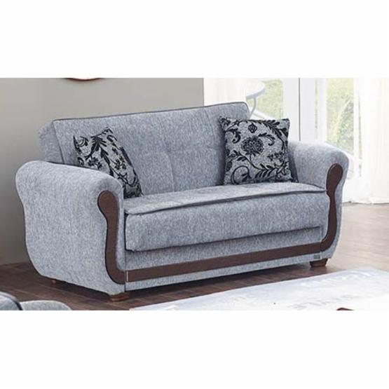 Empire Furniture USA Surf Avenue Convertible Storage Loveseat