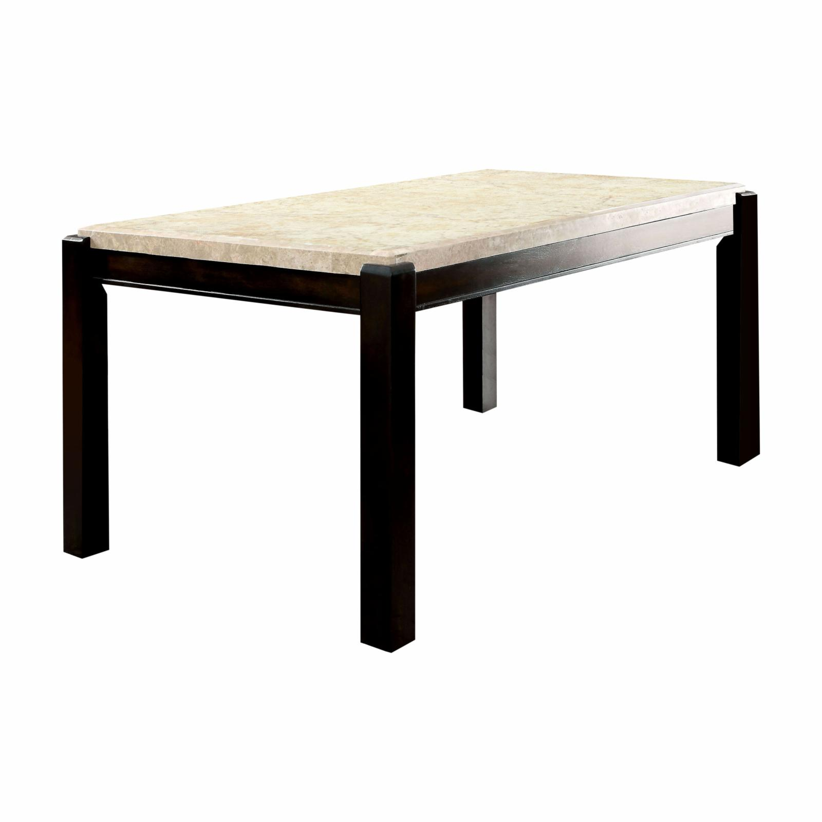 Furniture of America Friedrich Modern Marble Dining Table...