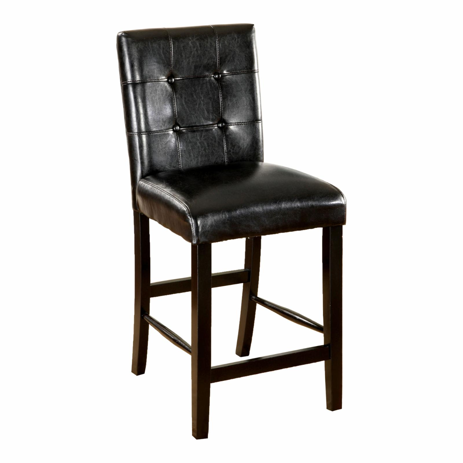 Furniture of America Laelius Counter Height Chair - IDF-3188BK-PC