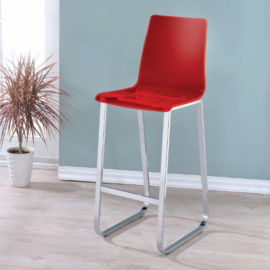 Furniture of America Clairon 30 in. Bar Stool