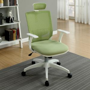 Furniture of America Velarddi Contemporary Style Mesh Back Rolling Office Chair