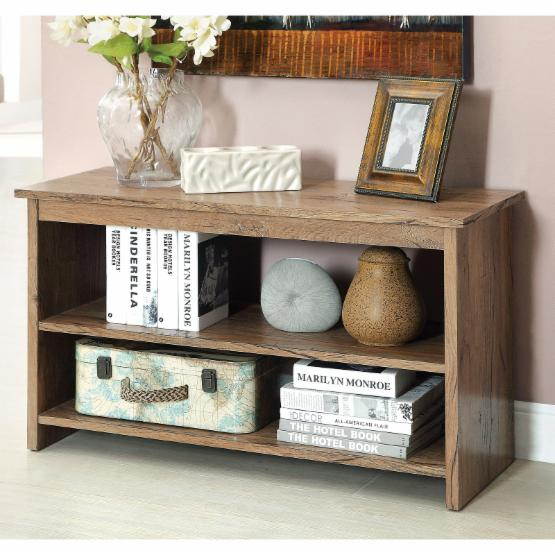Furniture of America 2-Shelf Side Accent Table