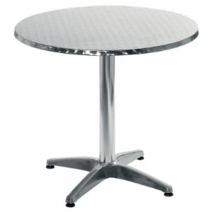 Euro Style Allan Stainless Steel Table - 27.5 inch