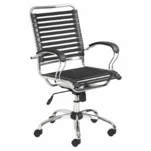 Euro Style Bungie Flat J Arm Office Chair