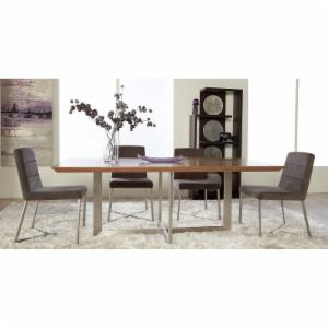 Euro Style Tosca Walnut Dining Table