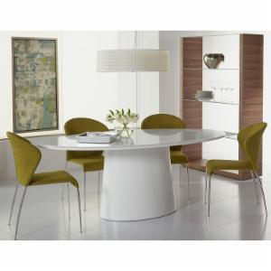 Euro Style 5 Piece Deodat Dining Table Set with Sy Chairs