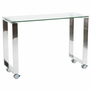 Euro Style Diego Laptop Desk with Side Return