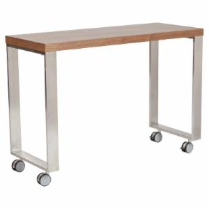 Euro Style Dillon Laptop Desk with Side Return