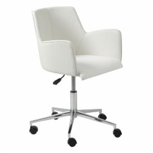Euro Style Sunny Office Chair - White