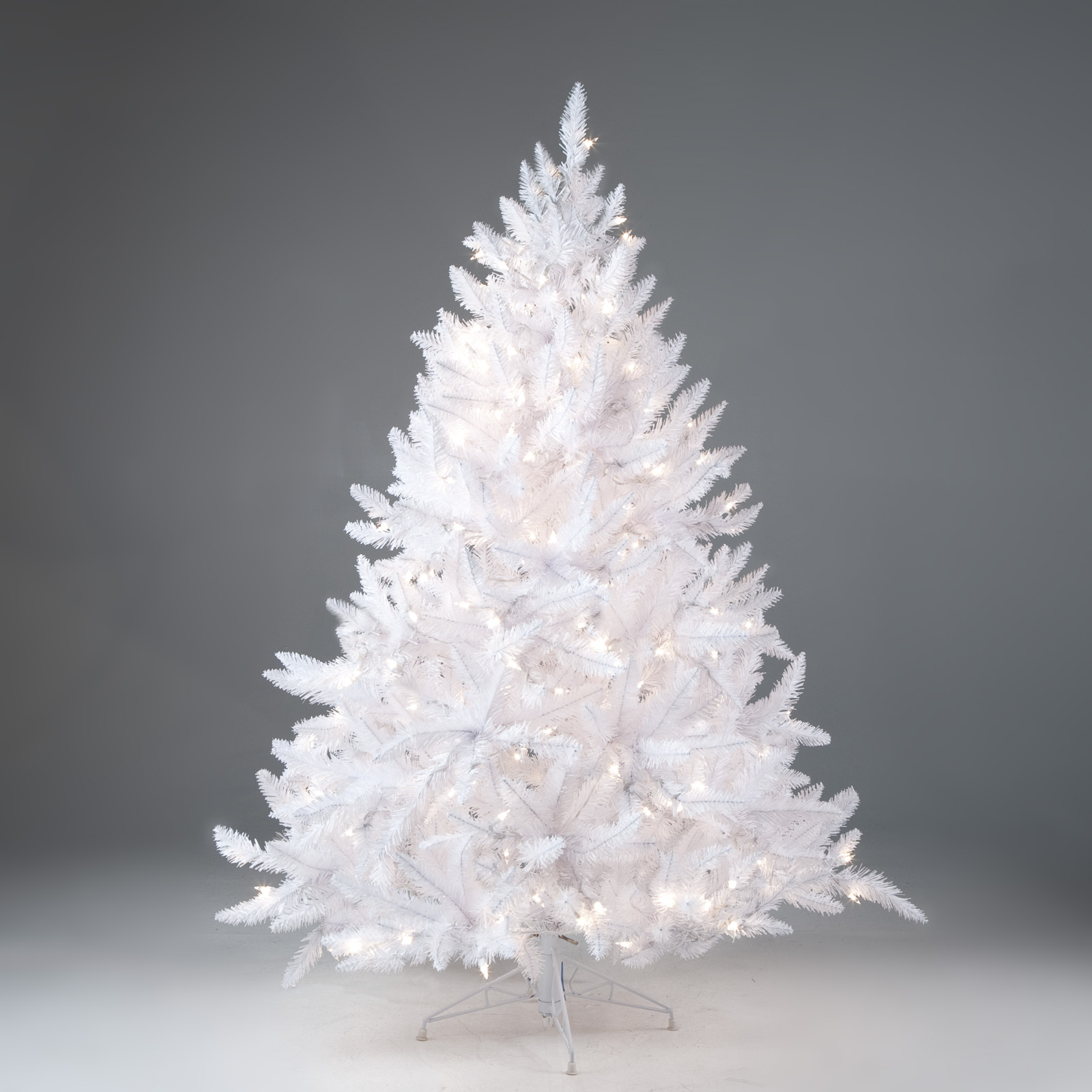 winter park full pre lit christmas tree hayneedle - 4 Foot White Christmas Tree