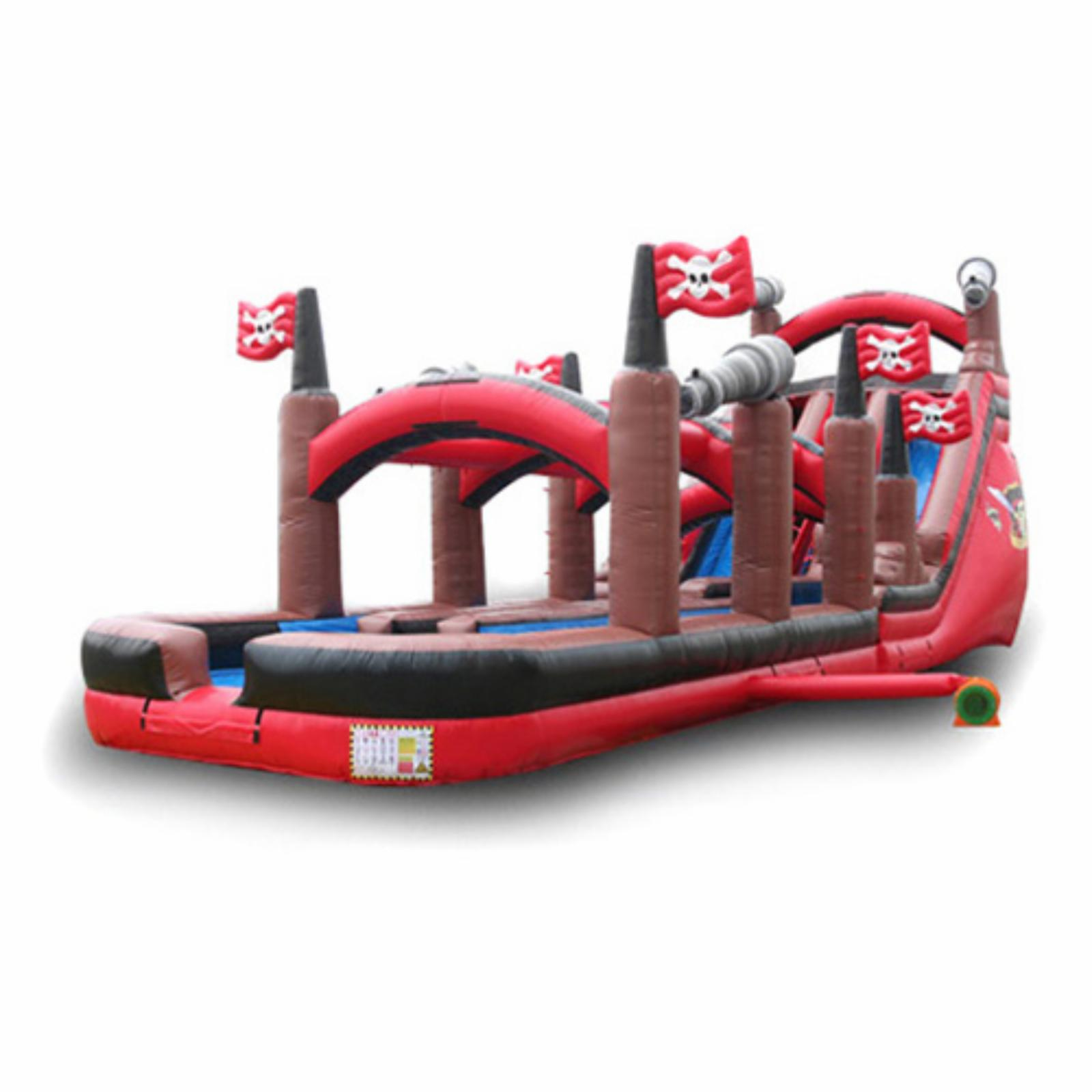EZ Inflatables 20 ft. Pirate Water Slide - WS212
