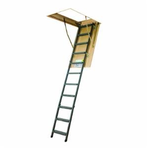 Fakro 10.1 ft. Insulated Steel Attic Ladder