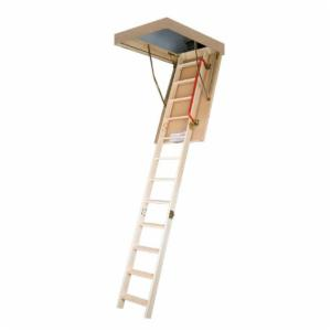 Fakro 8.10 ft. Thermo Wooden Attic Ladder