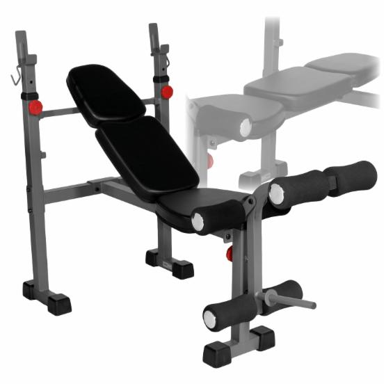 XMark Narrow Weight Bench with Leg Developer XM-4410