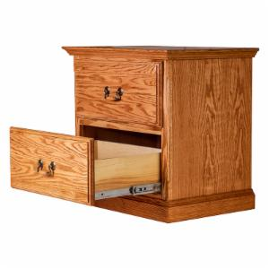 Forest Designs Traditional 2 Drawer Nightstand
