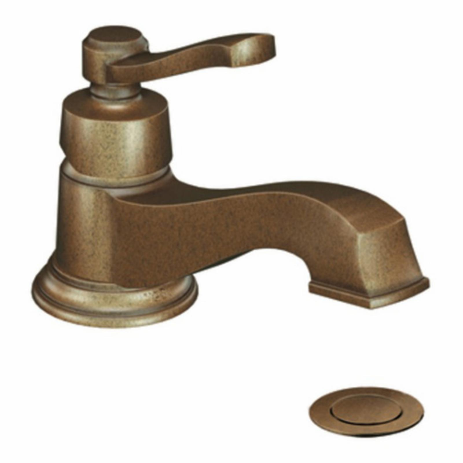 MOEN Rothbury S6202 Single Hole Bathroom Sink Faucet - MS6202 from ...