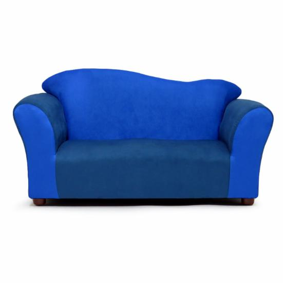 KEET Wave Sofa - Navy and Blue