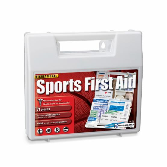 First Aid Only Sports First Aid Kit - 71 Pieces