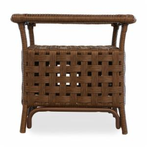 Lloyd Flanders Haven All-Weather Wicker End Table
