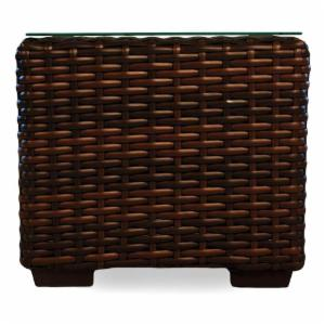 Lloyd Flanders Mesa All-Weather Wicker Cube End Table