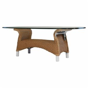 Lloyd Flanders Mandalay All-Weather Wicker Cocktail Table