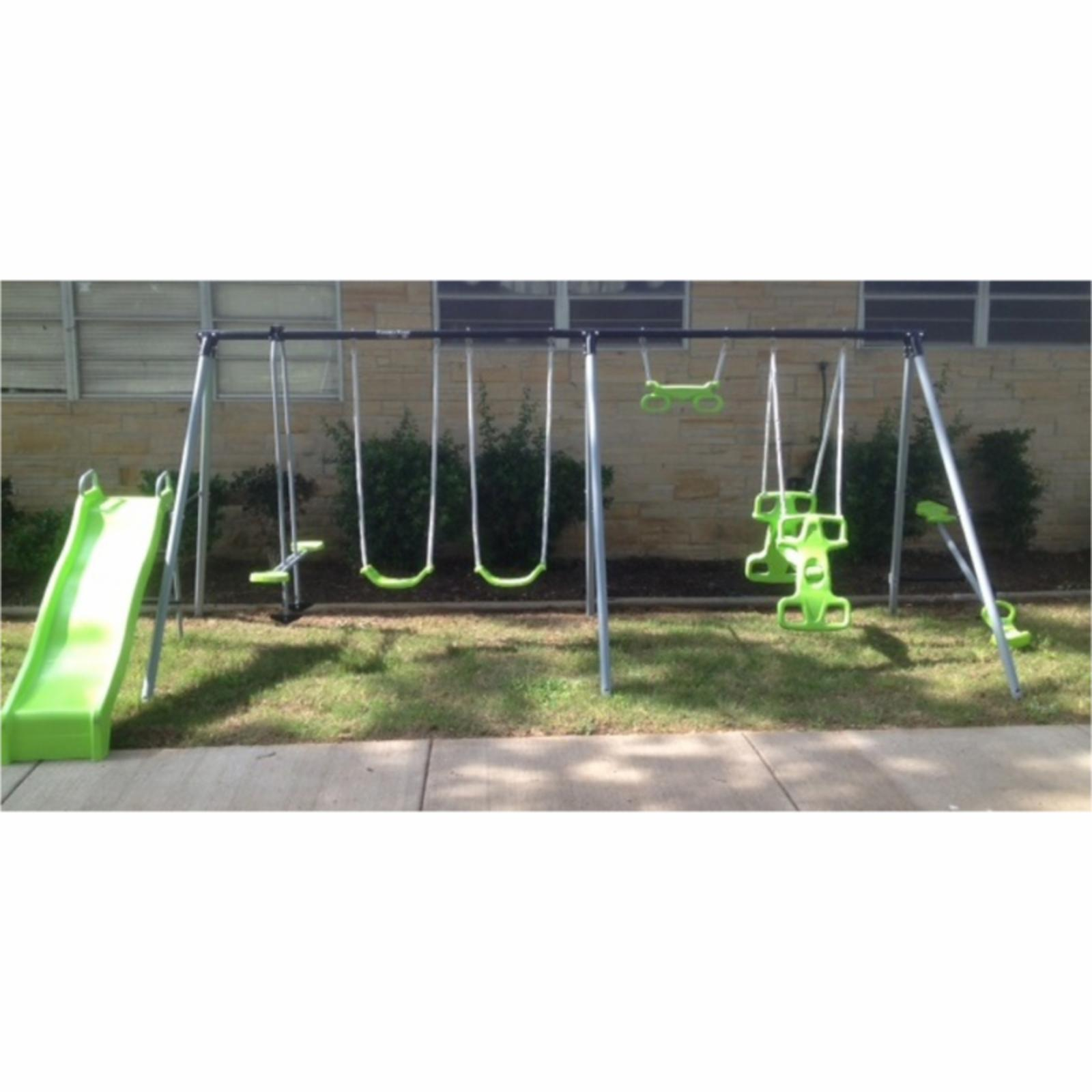 Flexible Flyer World of Fun Metal Swing Set - 46607T