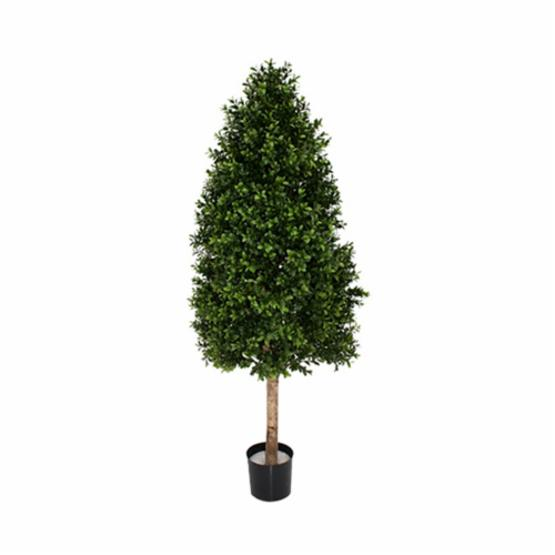 43 in.  Boxwood Cone Topiary