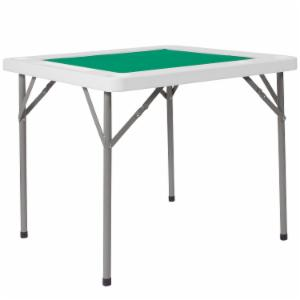 Flash Furniture 34.5 in. Square Folding Game Table with Playing Surface