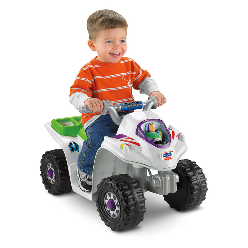 Fisher Price Power Wheels Toy Story Lil Quad ATV Battery Powered Riding Toy   Battery Powered Riding Toys